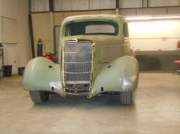 1935 Ford Coupe - Mock up in progess