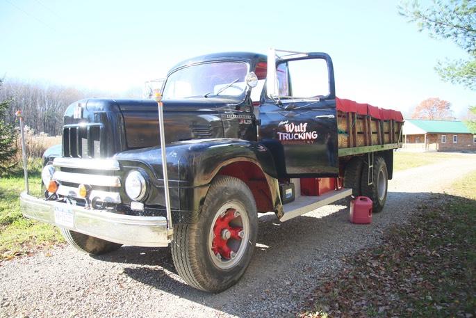 1957 R 190 International Windfall Rod Shop