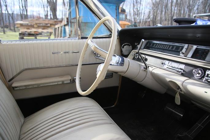 1963 Oldsmobile Interior Windfall Rod Shop