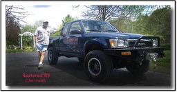 "1989 Toyota 4x4 Pick up ""Dads Truck"""
