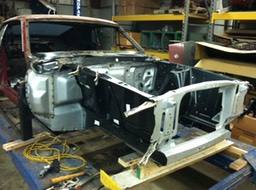 1969 Ford Mustang Reassembly