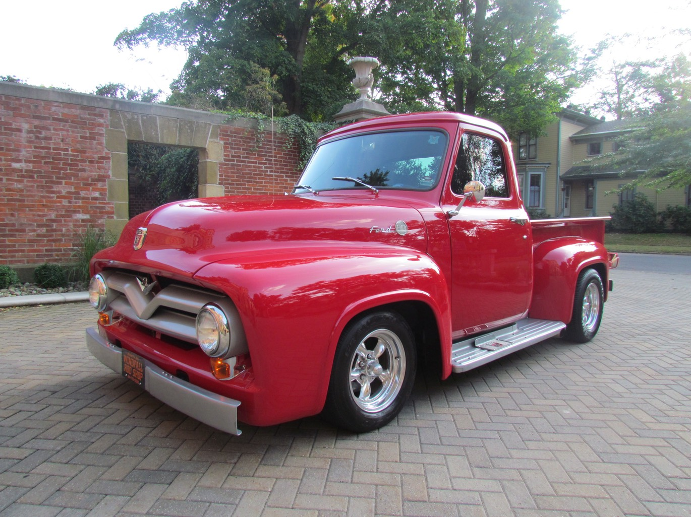 1955 Ford F100 Pick Up Windfall Rod Shop For Sale