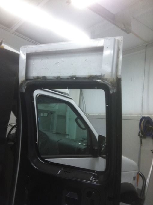 2001 Ford E350 Side Door Repair