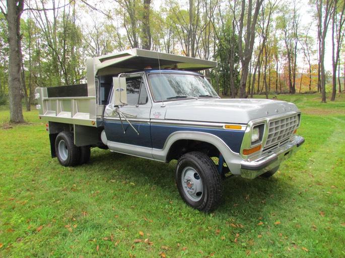 1978 ford f350 4x4 dump truck aluminum bed windfall rod shop. Black Bedroom Furniture Sets. Home Design Ideas