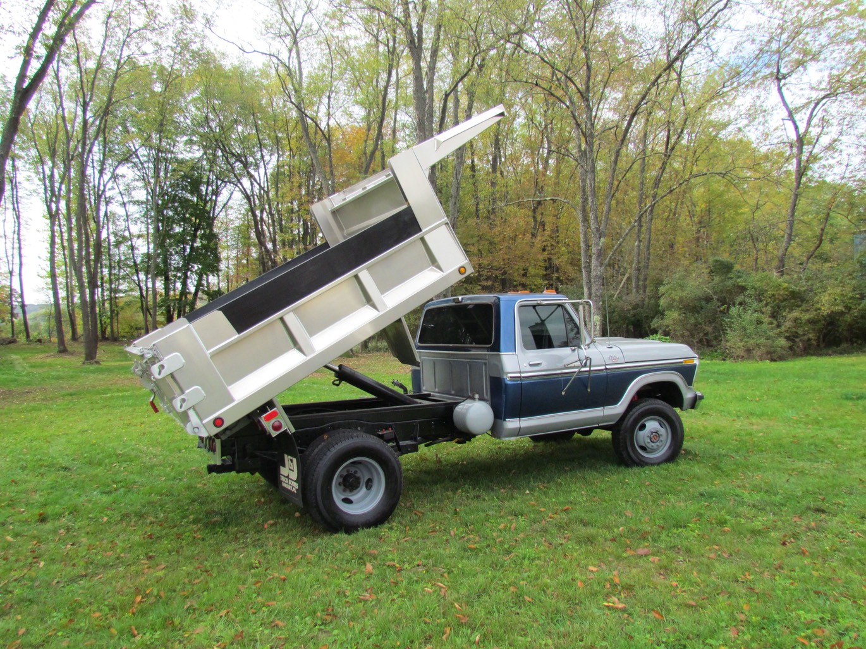 1978 Ford F350 4x4 Dump Truck Aluminum Bed Windfall Rod Shop 1954 F100