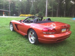 2005 Dodge Viper SRT10 Copperhead Convertible