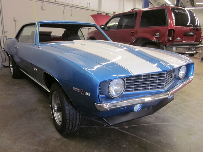 1969 Z28 Camaro - as purchased