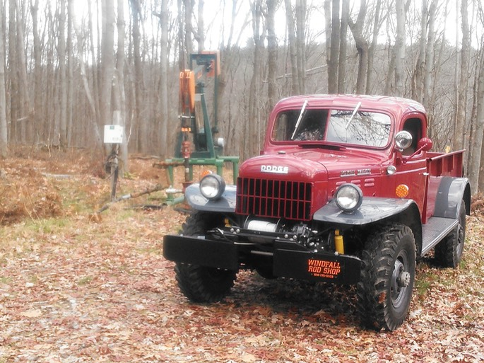 1947 Dodge Power Wagon - Back in oil field after 30 year absence!!