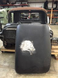 1956 Chevy Truck - Roof R&R