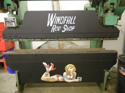Windfall Rod Shop Artwork