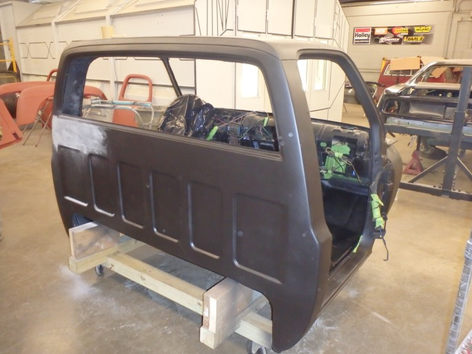 1975 GMC K25 4x4 - Prepping to paint cab