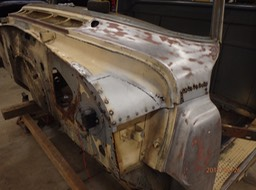 1971 IHC Loadstar 1600 Rollback - cab repair