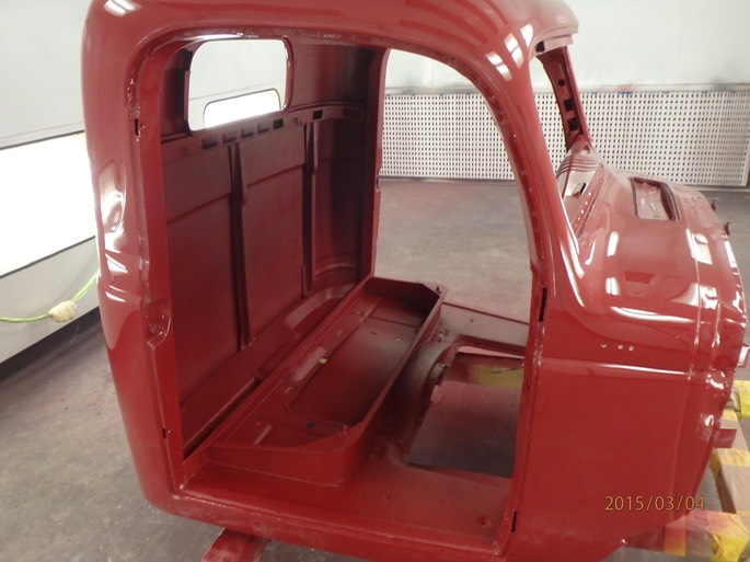 1947 Dodge Power Wagon Cab Bed Sheet Metal Prep And