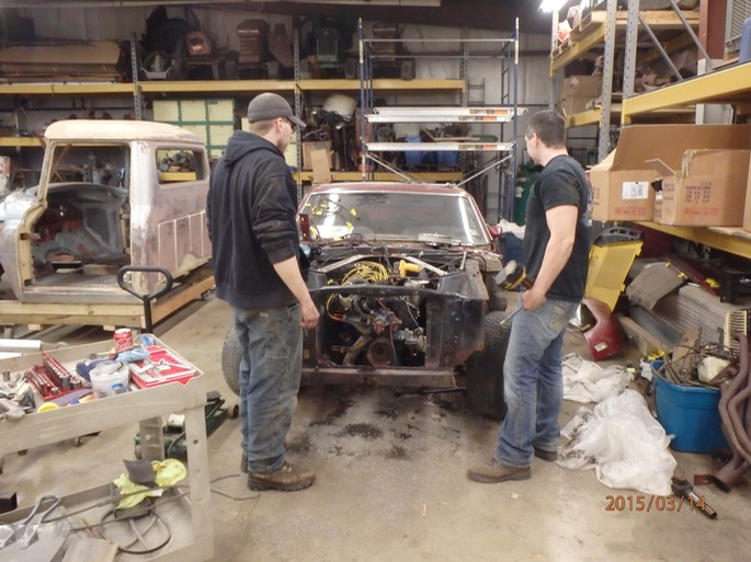 1969 Ford Mustang - teardown