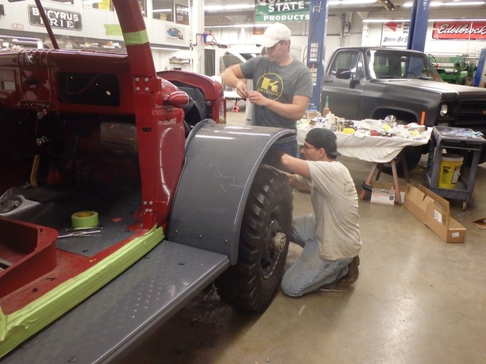 1947 Dodge Power Wagon - final assembly