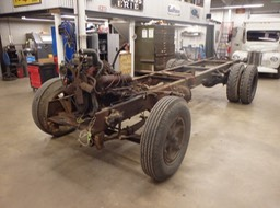 IH Loadstar - Cab and Sheet Metal Removed from Chassis