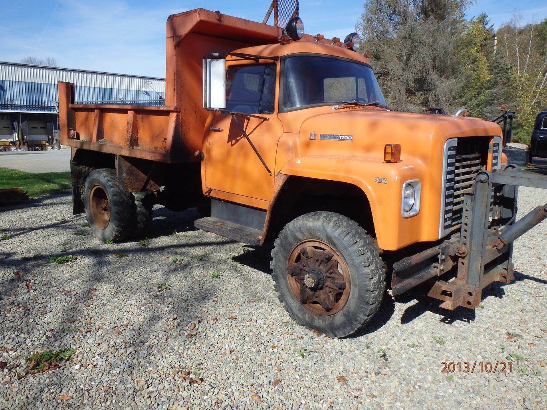 1977 Ihc Loadstar 1700 4x4 Dump Truck 02 Windfall Rod Shop 1951 Chevrolet