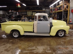1954 Chevy 5 Window Project Truck - 02